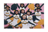 Kiamuki High School Cheerleaders, 2002 Giclee Print by Joe Heaps Nelson