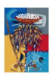 African Beauty 2, 2005 Giclee Print by Oglafa Ebitari Perrin
