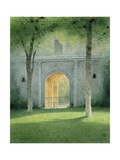 The Gate to the Gardens, Castello Di Galeazza, 2008 Giclee Print by Kevin Hughes