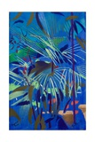 Begonia Palm Giclee Print by Simon Fletcher