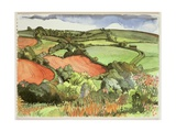 Wellow, Bath, 1994 Giclee Print by Anna Teasdale