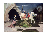 St. George and the Dragon, Five Minutes Later Giclee Print by George Adamson
