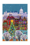 The Christmas Tree Giclee Print by Stanley Cooke
