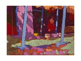 Garden Interval Giclee Print by Simon Fletcher