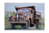 Old Farm Truck, 2008 Giclee Print by Anthony Butera