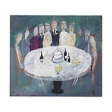 Wedding Breakfast, 2007 Giclee Print by Susan Bower