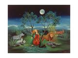 Moonshine Sonata, 2006 Lámina giclée por Magdolna Ban