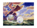 Dream Worlds, 1983 Giclee Print by Robert Tyndall