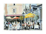 The Square at St. Malo Giclee Print by Felicity House