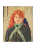 Portrait of the Mumper's Daughter, C.1914 Giclee Print by Augustus Edwin John