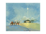 Three Wise Men, 2008 Giclee Print by David Cooke