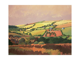 From the Train, South Devon, No.1 Giclee Print by Anna Teasdale