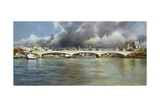 Waterloo Bridge, 1994 Giclee Print by Isabel Hutchison