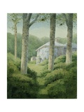 Pyworthy Rectory from the Wood, 2008 Giclee Print by Kevin Hughes