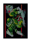 The Devil, after Bakst (Part I), 1992 Giclee Print by Laila Shawa
