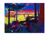 Garden Interval 1 Giclee Print by Simon Fletcher