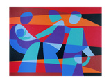 Teach Us to Sit Still, 1989 Giclee Print by Ron Waddams