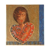 Hand on Heart, 2007 Giclee Print by Sabira Manek