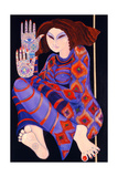 Zeinab Chasing the Devil (Part 2), 1992 Giclee Print by Laila Shawa