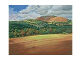 From the Train South Devon, No.2 Giclee Print by Anna Teasdale