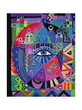 Eye of Destiny, 1992 Giclee Print by Laila Shawa