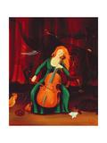 Carneval Des Animeaux, 2001 Giclee Print by Magdolna Ban
