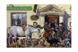 Drouthy Neibours Meet, C.1996 Giclee Print by Alexander Goudie