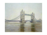 Tower Bridge, 1993 Giclee Print by Isabel Hutchison