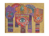 Protective Amulets, 1992 Giclee Print by Laila Shawa