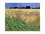 Huts at Walberswick, Suffolk Giclee Print by Christine McKechnie