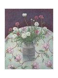 Flowers on Flowers, 2003 Giclee Print by Ruth Addinall