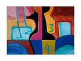 Anubis Brings Forth Basic Numbers, 2010 Giclee Print by Jan Groneberg
