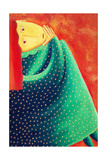 Woman Thinking, 2003 Giclee Print by Julie Nicholls