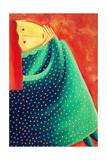 Woman Thinking, 2003 Giclee Print by Julie Nicholls