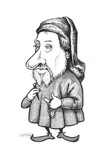 Chaucer Giclee Print by Gary Brown