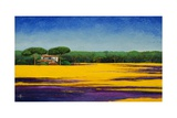Tuscan Landcape, 2010 Giclee Print by Trevor Neal