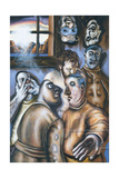 Stations of the Cross I: Jesus Is Condemned to Death, 2002 Giclee Print by Chris Gollon