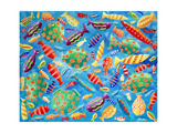 Tropical Fish, 2006 Giclee Print by Julie Nicholls