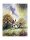 Cottage in Suffolk Giclee Print by John Lidzey