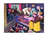 Raising of Jairus' Daughter, 2000 Giclee Print by Dinah Roe Kendall