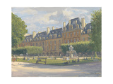 Place Des Voges, 2010 Giclee Print by Julian Barrow