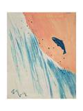 Salmon Leap Giclee Print by George Adamson