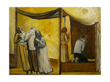 Abraham Praying Giclee Print by Richard Mcbee