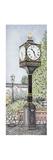 Millennium Clock, Silverdale, Lancashire, 2008 Giclee Print by Sandra Moore
