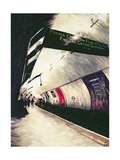 Please Check the Front of the Train... 1998 Giclee Print by Ellen Golla