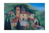 Tuscan Church, 1983 Giclee Print by Bettina Shaw-Lawrence