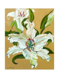 The White Lilies Giclee Print by Joan Thewsey