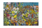 Allotment Garden, 2009 Giclee Print by Frances Treanor