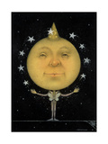 Juggling Full Moon Impression giclée par Wayne Anderson