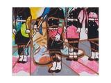 Steptaker II, 2008 Giclee Print by Nora Soos